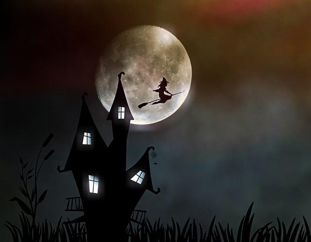 Ведьма и луна