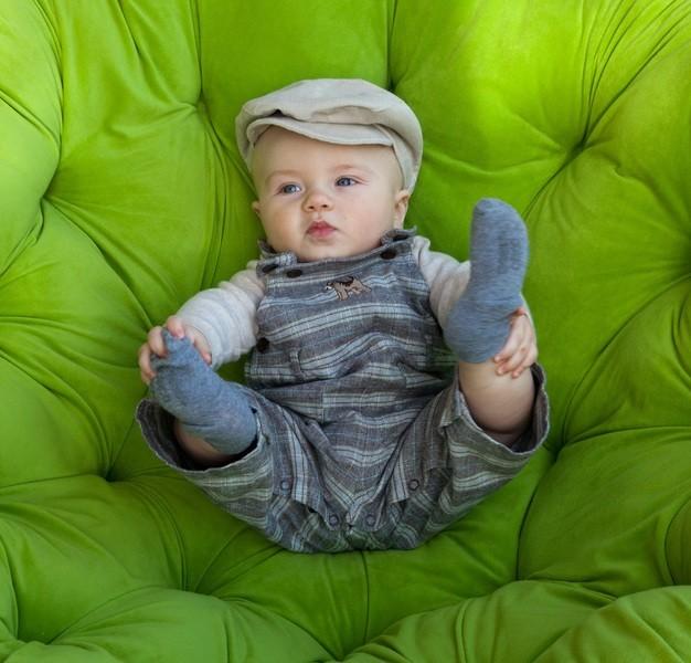 ребенок в стильной одежде