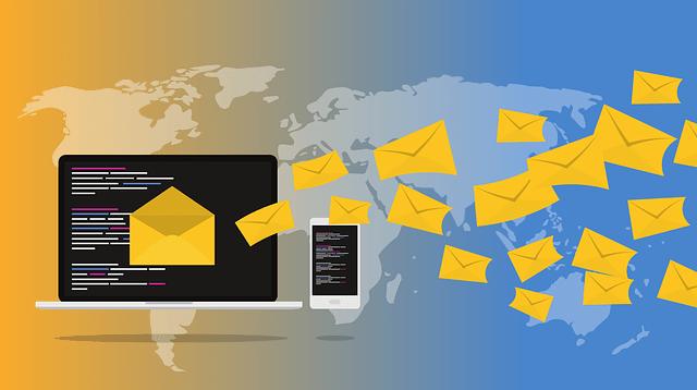 электронная почта, смс