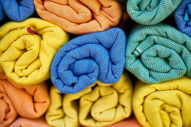 разные полотенца