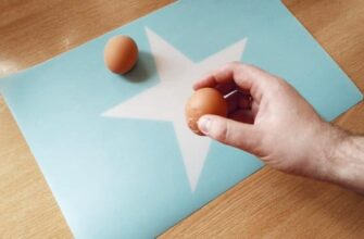 разбивание яиц об стол