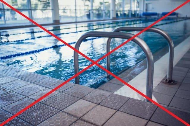 запрет на посещение бассейна