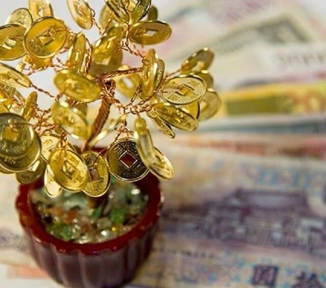 Искусственное денежное дерево